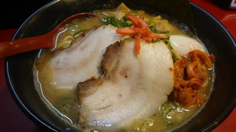 大中ラーメン BAL横店 バラ肉大中ラーメン/ 京都 ブログ ガイド
